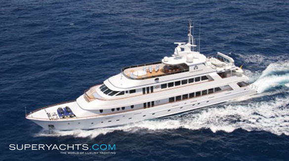 Ionian Princess Christensen Motor Yacht Superyachts Com