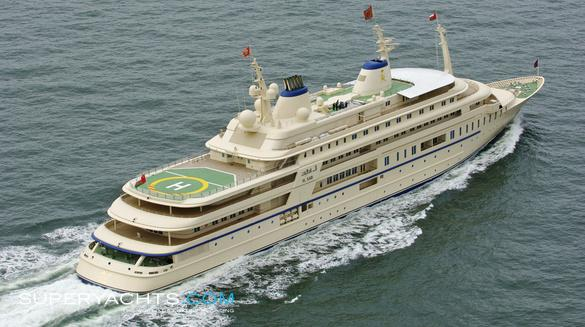 Al Said Luxury Motor Yacht by Lurssen Yachts