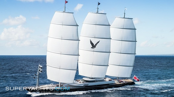 Maltese Falcon Luxury Sail Yacht by Perini Navi
