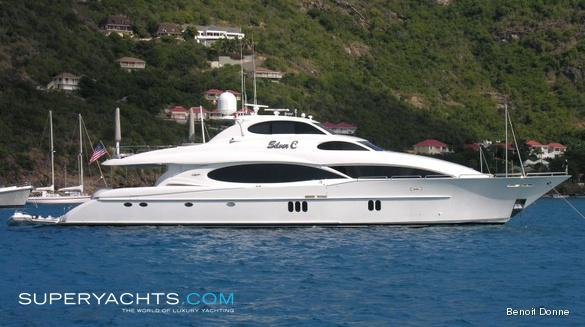 Silver C Luxury Motor Yacht by Lazzara Yachts