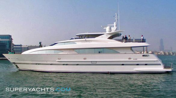 Trident I Luxury Motor Yacht by Horizon Yachts