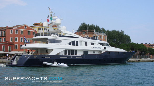 Alexandra benetti motor yacht for Luxury motors of bay area