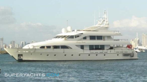 Bossy Boots II Luxury Motor Yacht by Intermarine Savannah