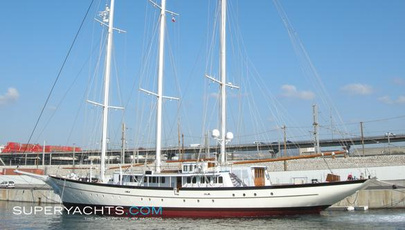 El Boughaz I Luxury Sail Yacht by Bath Iron Works