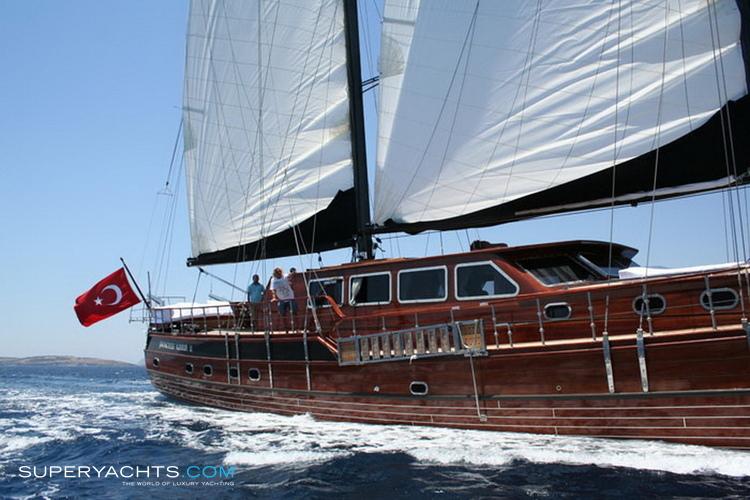 Karia Princess Yacht Layout Evlin Yachting