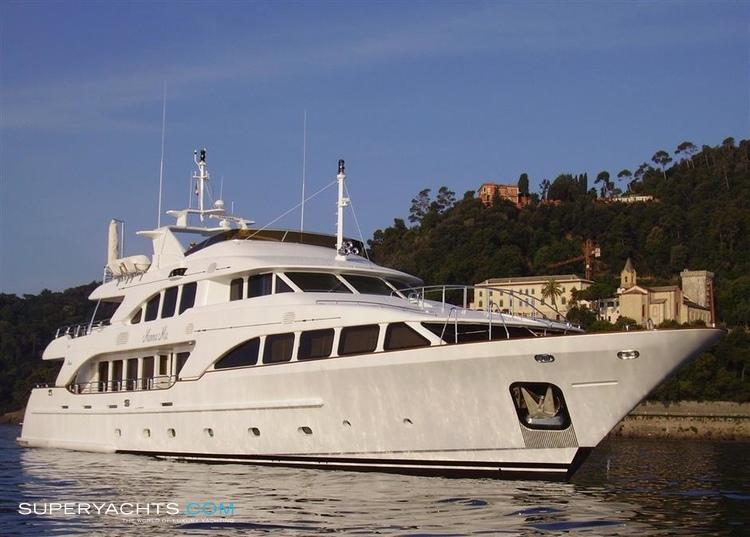 Mamma mia yacht layout benetti motor yacht for Luxury motor boats for sale