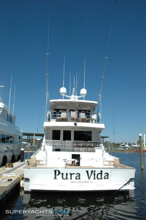 Pura vida yacht layout broward marine motor for Pura vida pdf