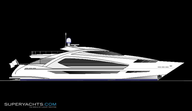 355 ps fast luxury motoryacht concept photos. Black Bedroom Furniture Sets. Home Design Ideas