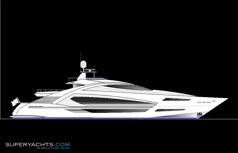 455 ps motoryacht concept photos. Black Bedroom Furniture Sets. Home Design Ideas