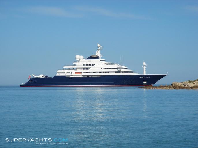 Luxury Motor Yacht Octopus By Lurssen Yachts