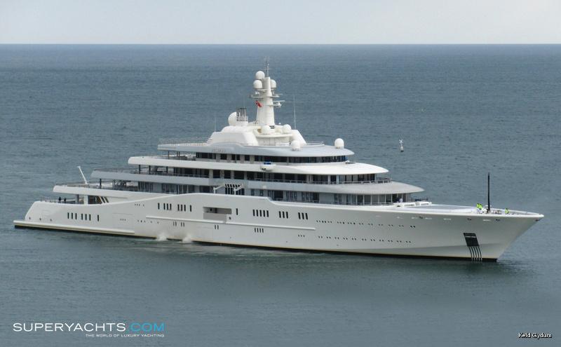 Eclipse Luxury Motor Yacht By Blohm Voss Shipyards
