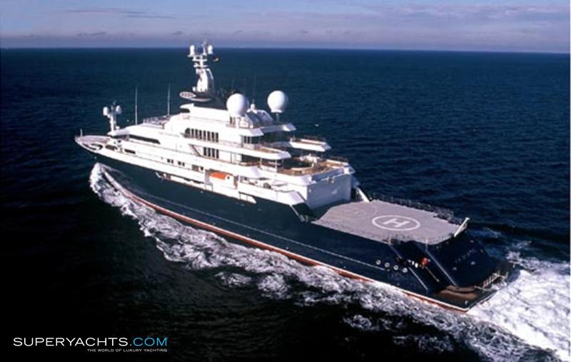 Octopus Super Yacht