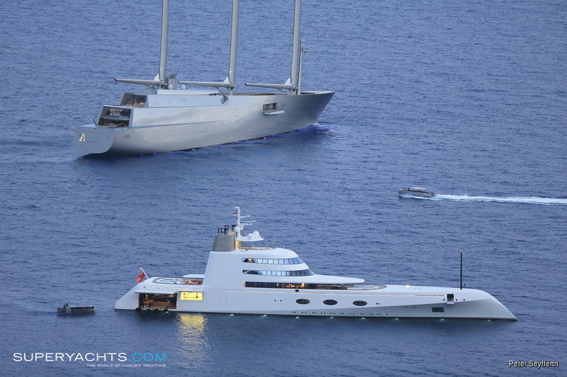 SAILING YACHT A Photos - Nobiskrug Sail Yacht | superyachts com