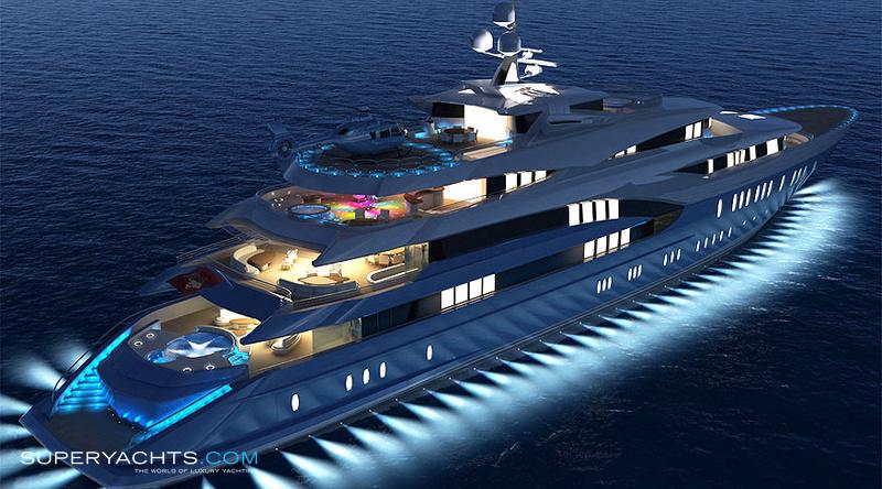 Sunrays Luxury Motor Yacht By Oceanco