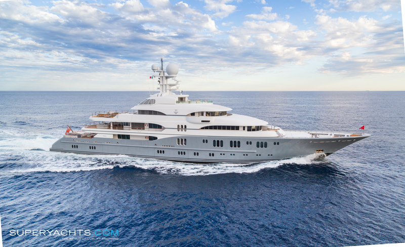 Tv photos lurssen yachts motor yacht for Luxury motor yachts for sale